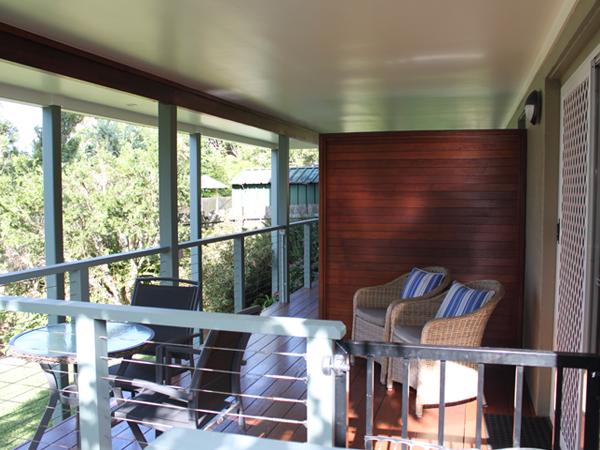Queen room deck